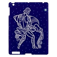 Aquarius Zodiac Star Apple Ipad 3/4 Hardshell Case by Mariart