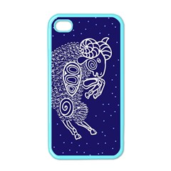 Aries Zodiac Star Apple Iphone 4 Case (color) by Mariart