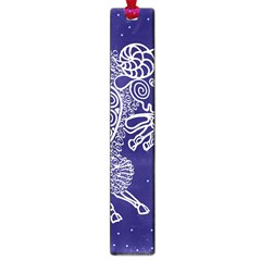 Aries Zodiac Star Large Book Marks by Mariart