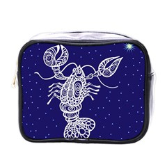 Cancer Zodiac Star Mini Toiletries Bags by Mariart