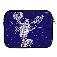 Cancer Zodiac Star Apple Ipad 2/3/4 Zipper Cases by Mariart