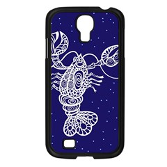 Cancer Zodiac Star Samsung Galaxy S4 I9500/ I9505 Case (black) by Mariart