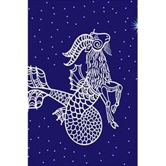 Capricorn Zodiac Star 5 5  X 8 5  Notebooks by Mariart