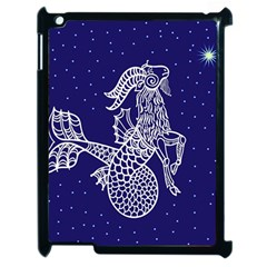 Capricorn Zodiac Star Apple Ipad 2 Case (black) by Mariart