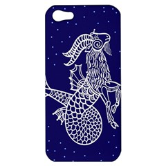 Capricorn Zodiac Star Apple Iphone 5 Hardshell Case by Mariart