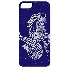 Capricorn Zodiac Star Apple Iphone 5 Classic Hardshell Case by Mariart