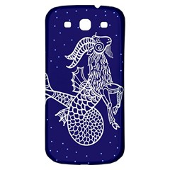 Capricorn Zodiac Star Samsung Galaxy S3 S Iii Classic Hardshell Back Case by Mariart