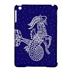 Capricorn Zodiac Star Apple Ipad Mini Hardshell Case (compatible With Smart Cover) by Mariart