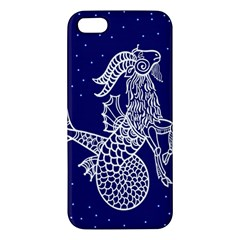 Capricorn Zodiac Star Apple Iphone 5 Premium Hardshell Case by Mariart