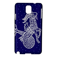 Capricorn Zodiac Star Samsung Galaxy Note 3 N9005 Hardshell Case by Mariart