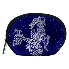 Capricorn Zodiac Star Accessory Pouches (medium)  by Mariart