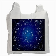 Astrology Illness Prediction Zodiac Star Recycle Bag (one Side) by Mariart