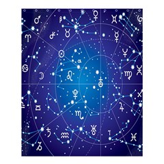 Astrology Illness Prediction Zodiac Star Shower Curtain 60  X 72  (medium)  by Mariart