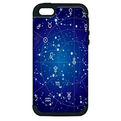 Astrology Illness Prediction Zodiac Star Apple Iphone 5 Hardshell Case (pc+silicone) by Mariart