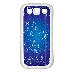 Astrology Illness Prediction Zodiac Star Samsung Galaxy S3 Back Case (white) by Mariart