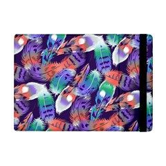 Bird Feathers Color Rainbow Animals Fly Ipad Mini 2 Flip Cases by Mariart