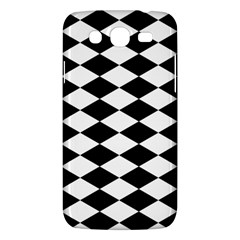 Diamond Black White Plaid Chevron Samsung Galaxy Mega 5 8 I9152 Hardshell Case  by Mariart