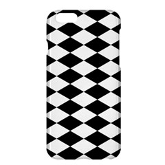 Diamond Black White Plaid Chevron Apple Iphone 6 Plus/6s Plus Hardshell Case by Mariart
