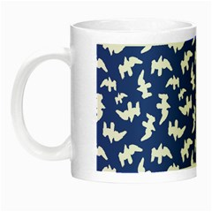 Birds Silhouette Pattern Night Luminous Mugs