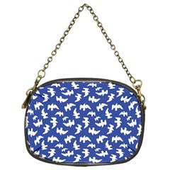 Birds Silhouette Pattern Chain Purses (two Sides)