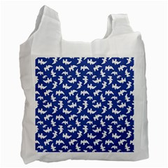Birds Silhouette Pattern Recycle Bag (one Side)