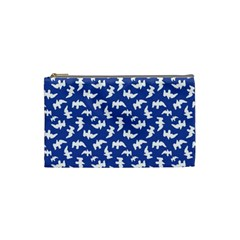 Birds Silhouette Pattern Cosmetic Bag (small)
