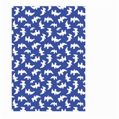 Birds Silhouette Pattern Large Garden Flag (two Sides)