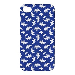 Birds Silhouette Pattern Apple Iphone 4/4s Premium Hardshell Case by dflcprintsclothing
