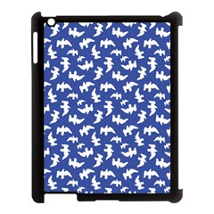 Birds Silhouette Pattern Apple Ipad 3/4 Case (black)