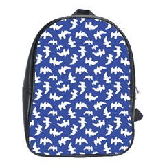 Birds Silhouette Pattern School Bags (xl)