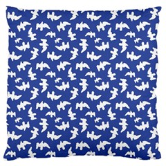 Birds Silhouette Pattern Standard Flano Cushion Case (one Side)