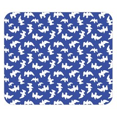 Birds Silhouette Pattern Double Sided Flano Blanket (small)