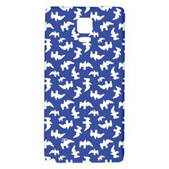 Birds Silhouette Pattern Galaxy Note 4 Back Case by dflcprintsclothing