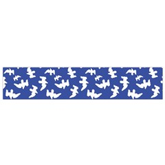 Birds Silhouette Pattern Flano Scarf (small)