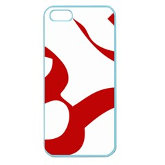 Hindu Om Symbol (red) Apple Seamless Iphone 5 Case (color) by abbeyz71