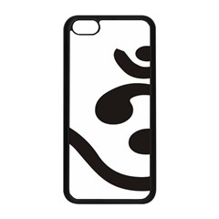 Bengali Om Symbol  Apple Iphone 5c Seamless Case (black) by abbeyz71
