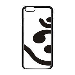 Bengali Om Symbol  Apple Iphone 6/6s Black Enamel Case by abbeyz71