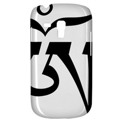 Tibetan Om Symbol (black) Galaxy S3 Mini by abbeyz71