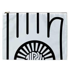 Janism Ahimsa Symbol  Cosmetic Bag (xxl)  by abbeyz71