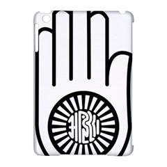 Janism Ahimsa Symbol  Apple Ipad Mini Hardshell Case (compatible With Smart Cover) by abbeyz71