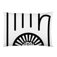 Jainism Ahisma Symbol  Pillow Case by abbeyz71