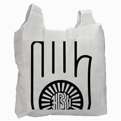 Jainism Ahisma Symbol  Recycle Bag (one Side) by abbeyz71