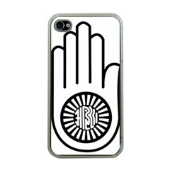 Jainism Ahisma Symbol  Apple Iphone 4 Case (clear) by abbeyz71