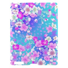 Flowers Cute Pattern Apple Ipad 3/4 Hardshell Case by Nexatart