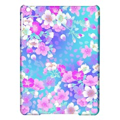 Flowers Cute Pattern Ipad Air Hardshell Cases by Nexatart