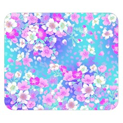 Flowers Cute Pattern Double Sided Flano Blanket (small)  by Nexatart