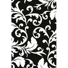 Black And White Floral Patterns 5 5  X 8 5  Notebooks by Nexatart