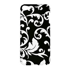 Black And White Floral Patterns Apple Ipod Touch 5 Hardshell Case