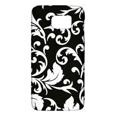 Black And White Floral Patterns Galaxy S6