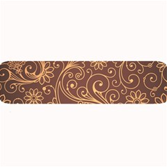 Gold And Brown Background Patterns Large Bar Mats by Nexatart